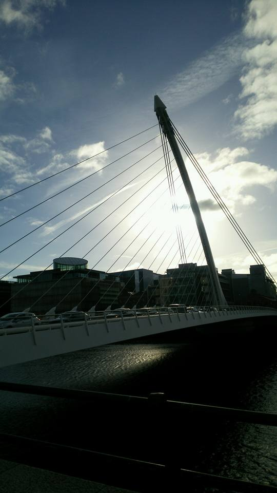 Dublin-River-Liffey-Samuel-Beckett-Bridge